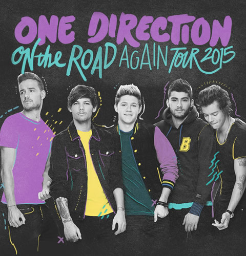 1D On the Road Again Tour 2015