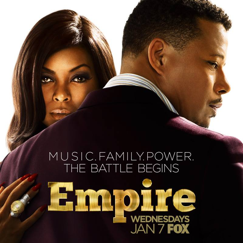 Serie TV Empire Lucious e Cookie